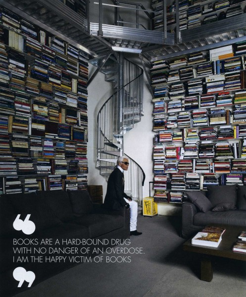 Karl Lagerfeld books