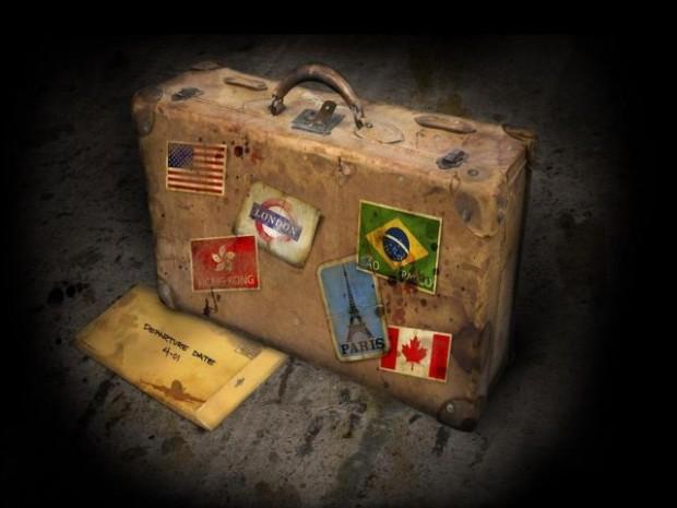 April Suitcase