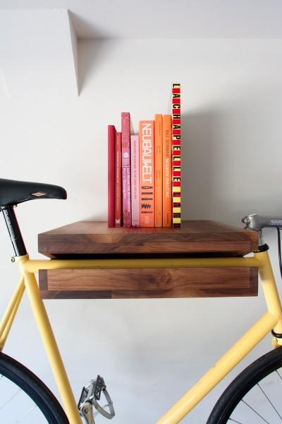 Knife&Saw Bike shelf close