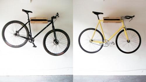 Knife&Saw Bike shelf display 2