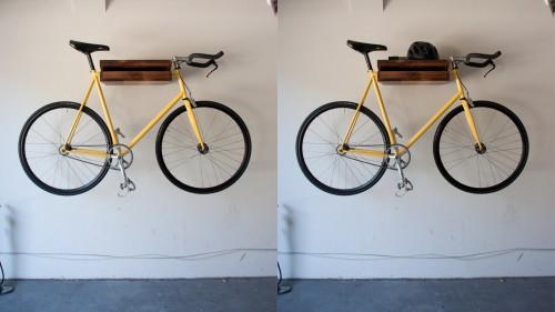 Knife&Saw Bike shelf display