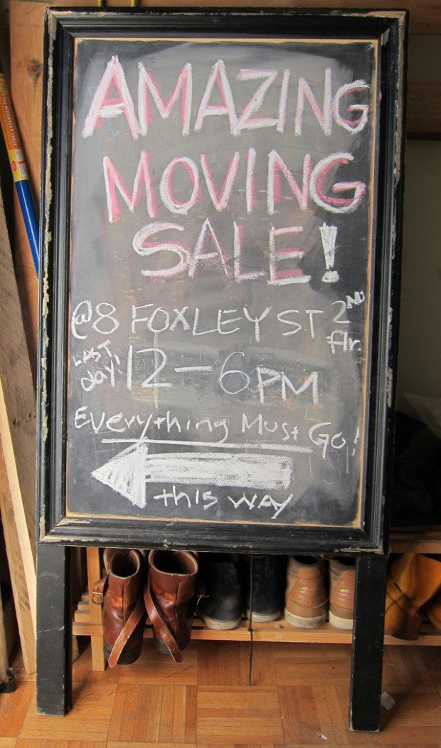 amazing moving sale